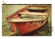 An Old Row Boat Carry-all Pouch