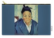 An Old Woman Of Arles Carry-all Pouch