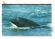 An Orca Surfaces  Carry-all Pouch