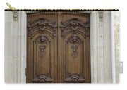 An Ornate Door On The Champs Elysees In Paris France   Carry-all Pouch