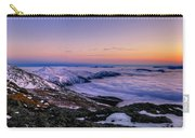 An Undercast Sunset Panorama Carry-all Pouch