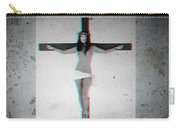 Anaglyph Asian Female Jesus Carry-all Pouch