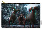 Anaglyph Wild Animals Carry-all Pouch