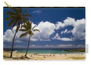 Anakena Beach On Easter Island Carry-all Pouch