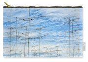 Analog Television Aerials Carry-all Pouch