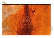 Anasazi Spirals  Carry-all Pouch