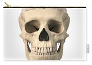 Anatomy Of Human Skull, Cutaway View Carry-all Pouch