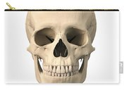 Anatomy Of Human Skull, Front View Carry-all Pouch