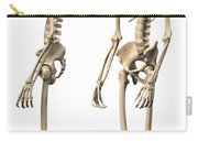 Anatomy Of Male Human Skeleton, Side Carry-all Pouch