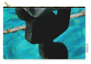 Ancher In Water Santorini Greece Carry-all Pouch