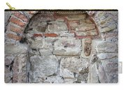 Ancient Bricked Up Window  Carry-all Pouch
