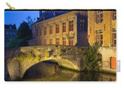 Ancient Bridge In Bruges  Carry-all Pouch