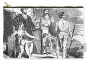 Ancient Briton, Caledonian And Irish Carry-all Pouch