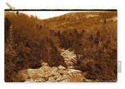 Ancient Brook - Sepia Tones Carry-all Pouch