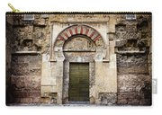 Ancient Door To The Mezquita In Cordoba Carry-all Pouch