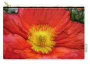 Ancient Flower 4 - Poppy Carry-all Pouch