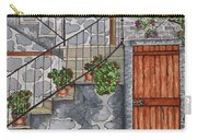 Ancient Grey Stone Residence Carry-all Pouch