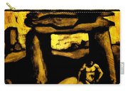 Ancient Grunge Carry-all Pouch by John Malone