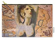 Ancient Middle East Map And Aphrodite Carry-all Pouch