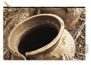 Ancient Pottery In Sepia Carry-all Pouch