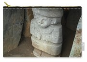 Ancient Pre-columbian Statue Carry-all Pouch