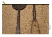 Ancient Spoon And Fork  Carry-all Pouch
