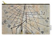 Ancient Sundial Carry-all Pouch