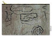 Ancient Wall Art Carry-all Pouch