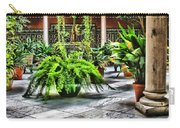 Andalusian Courtyard In Sevilla Spain Carry-all Pouch