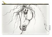 Andalusian Horse Drawing 04 11 2013 Carry-all Pouch
