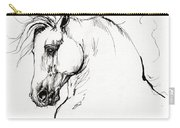 Andalusian Horse Drawing 1 Carry-all Pouch