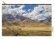 Andes Mountains - Peru Carry-all Pouch