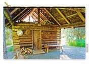 Andrew Berg's Homestead Cabin At Kenai National Wildlife Refuge In Soldotna-alaska Carry-all Pouch
