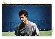 Andy Murray Carry-all Pouch by Nishanth Gopinathan
