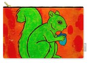 Andy's Squirrel Green Carry-all Pouch