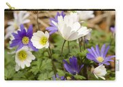 Anemone Blanda Carry-all Pouch