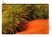 Anenome And Starfish Carry-all Pouch