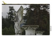 Angel And Garden Urns Carry-all Pouch
