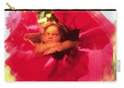 Angel And Poppy Carry-all Pouch by Katherine Fawssett