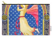 Angel Blowing Trumper Carry-all Pouch