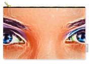 Angel Eyes Carry-all Pouch
