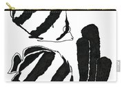 Angel Fish Art - Little Angels - By Sharon Cummings Carry-all Pouch