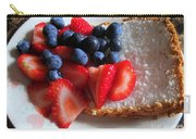 Angel Food And The Berries Carry-all Pouch