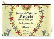 Angel Fraktur Painting Carry-all Pouch