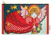 Angel In Red Carry-all Pouch