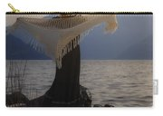Angel In Sunset Carry-all Pouch