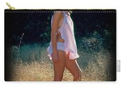 Angel In The Grasses 3 Carry-all Pouch