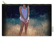 Angel In The Grasses Carry-all Pouch