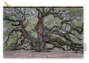 Angel Oak Digital Art Carry-all Pouch
