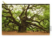 Angel Oak Tree 2009 Carry-all Pouch by Louis Dallara